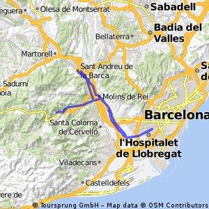 Hospi-St. Andreu de la Barca-Vallirana-Hospi