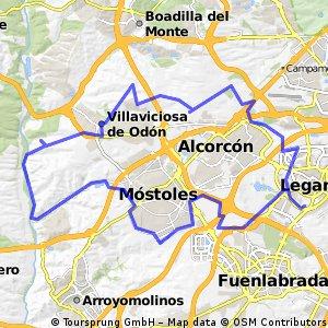 Leganés-Villaviciosa-Río Guadarrama