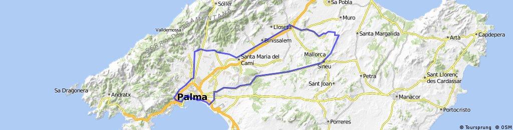 Palma-Inca-Sineu-Palma