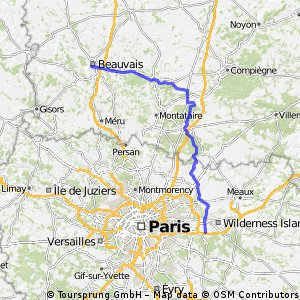 Relay 3: Beauvais - Bussy-Saint-Georges (Hotel)