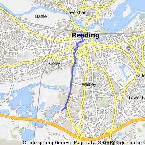 Reading Station to Madejski Stadium fast