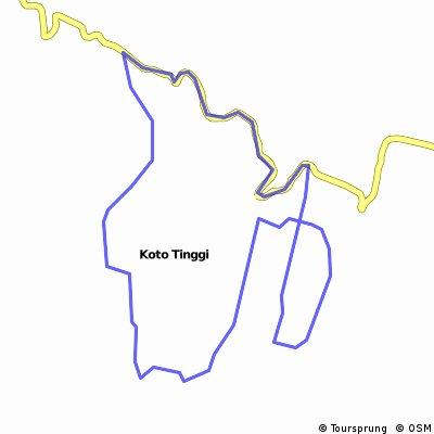 Koto Gadang - Koto Tinggi (Bukittinggi - Baso)