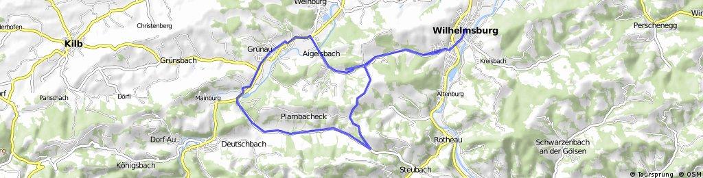 Wilhelmsburg - Plambacheck - Hofstetten - Wilhelmsburg