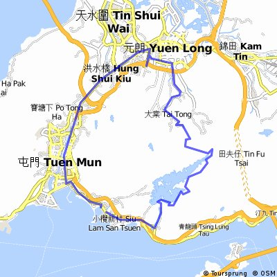 Tuen Mun Castle Peak Mountain Normal