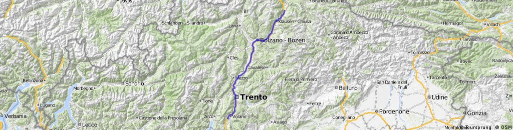 Brixen / Rovereto