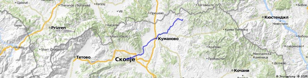 Skopje to Kokino Megalithic Observatory