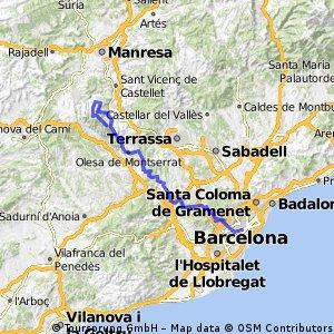 Montserrat per AvgdaTibidabo i Les Planes