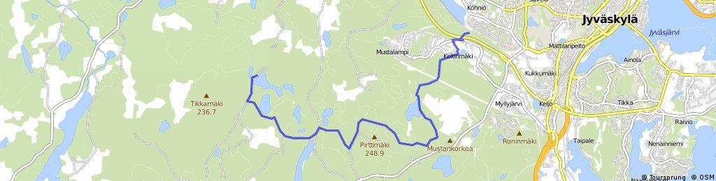 Pitkäjärven taa