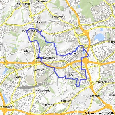 Rundtour Stadtbezirk Lütgendortmund