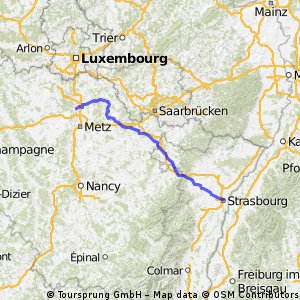 tl vendredi 16 : amnéville - strasbourg
