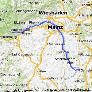 Rheintour Bingen-Gernsheim