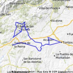 Talavera - cruce El Real