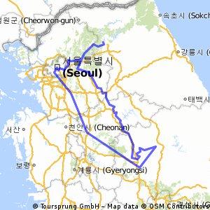 Corea / Seul e il fiume Han