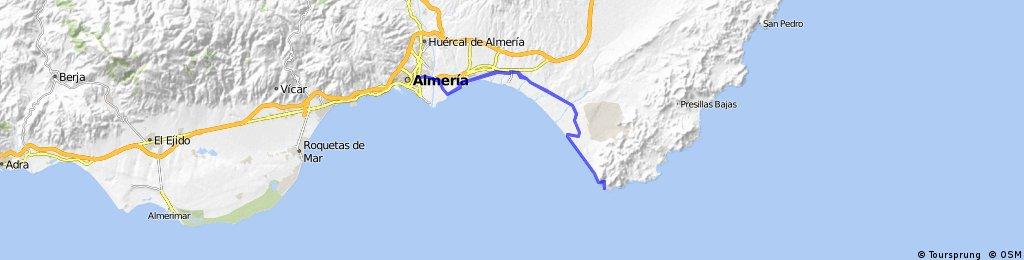 ALMERIA - ARRECIFE DE LAS SIRENAS