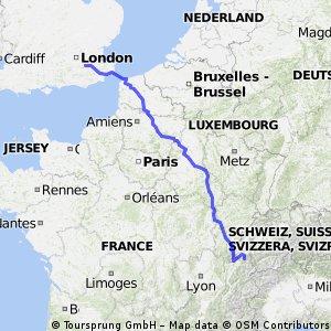 Calais Route