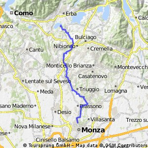 Parco Lambro da Alserio a Monza