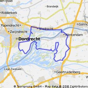 De Biesbosch - Fietsroute