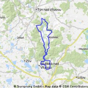 Hluboká - Hněvkovice2 (3:00)