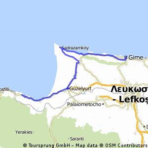 Auto - Girne - West coast - Yesilirmak