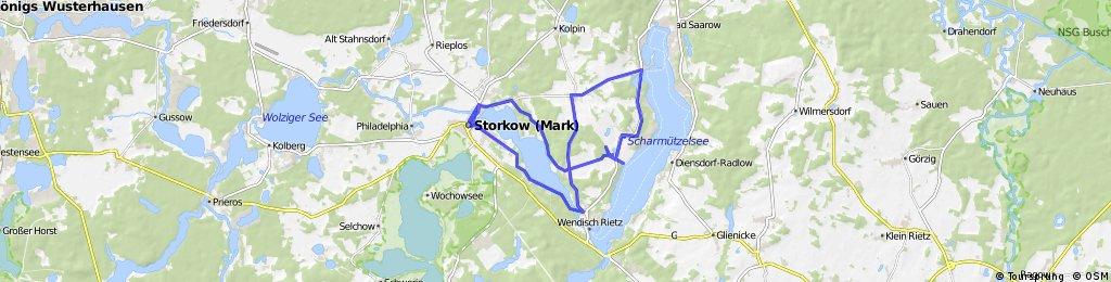 Arosa Tour mit Halt im Burgstüble Storkow (Pause Mitgerechnet)