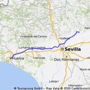 ETAPA 3 Villaverde del Río-Huelva