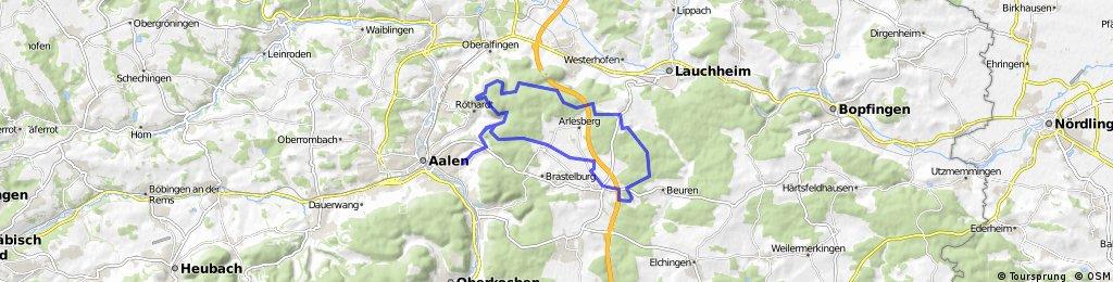 Brauner Berg - Hülen - Waldhausen