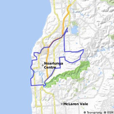 Tailwind Group Ride 5 - Bains Rd, Coast 50km