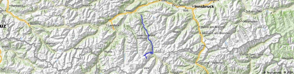 Tour 2016-05.27 Oetz - Gletscherstrasse