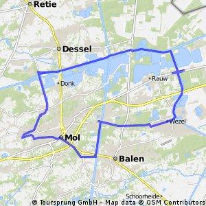 Rond Zilvermeer-Mol