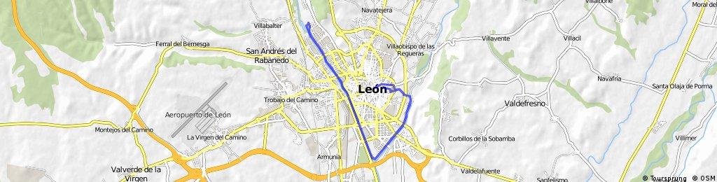 Recording from 7 de febrero 11:49 León por el Bernesga.