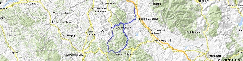 Inicisa-Radda in Chianti-Greve in Chianti-Incisa