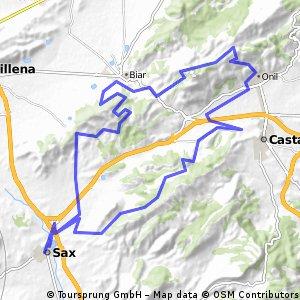 sax-ruta 2 61km 1300d