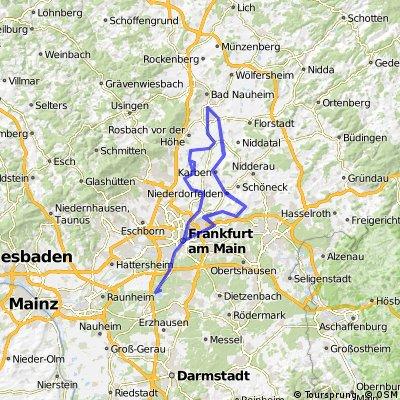 IRONMAN European Championship Frankfurt - Bike Course 2016