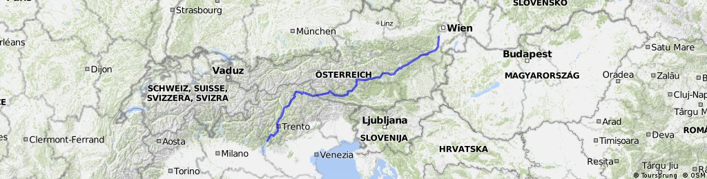 Wien Gardasee