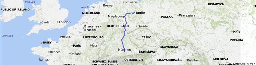 KT-2010 Berlin - München