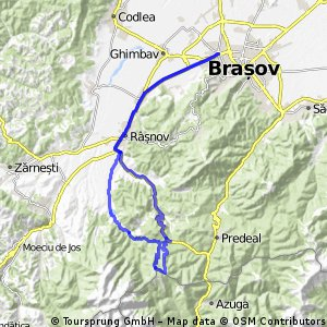 Brasov Rasnov Diham (68 Km)