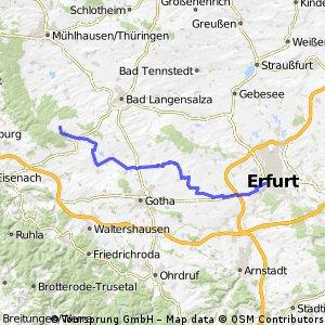 Radtour 2016 MHL-Erfurt