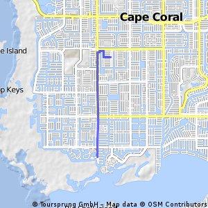 Brief bike tour through Cape Coral