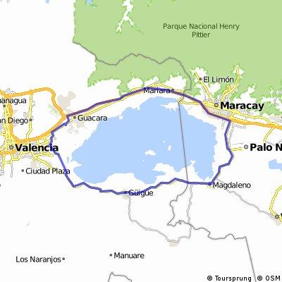 Vuelta a Lago de Valencia Carabobo