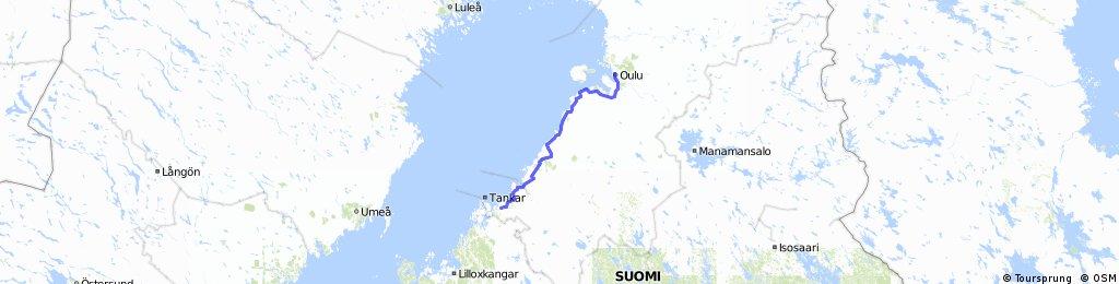 5 Oulu - Kokkola