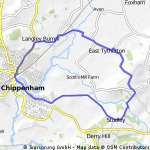 wick hill studley loop