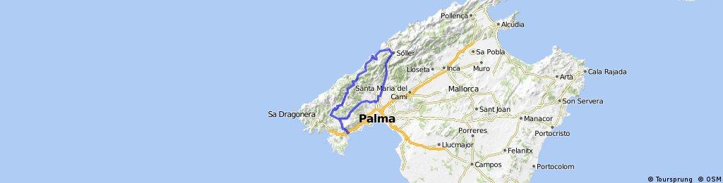 Palmanova - Soller - Palmanova