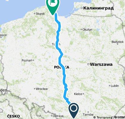 Przez Polskę