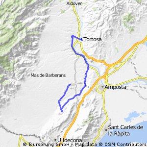 Dia 14-15 Tortosa-Santa Barbara-LaSenia-Tortosa