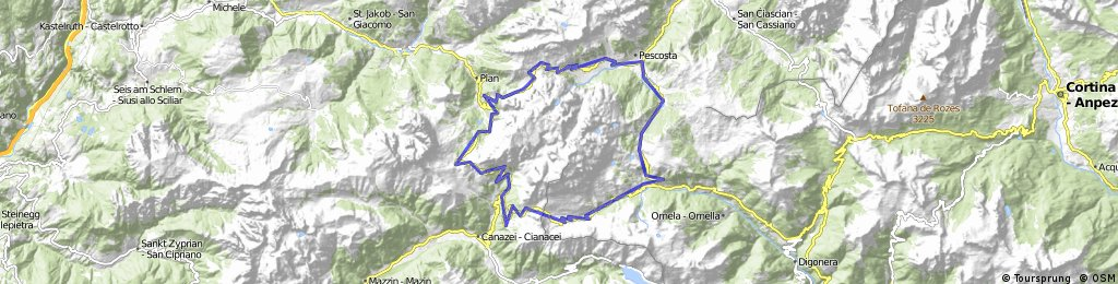 Sella Ronda - Dolomiti, Italy