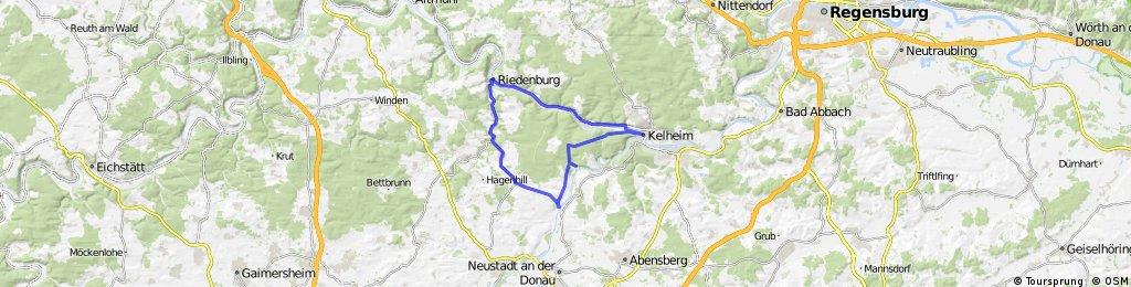 Riedenburg-Schmbachtal-Kehlheim-Riedenburg