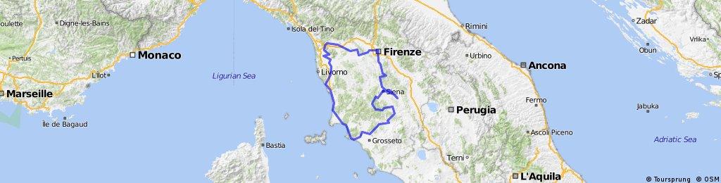 Tuscany Bike Tour 2016