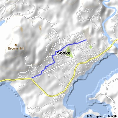 Route to School; Grant Road to Journey Middle School
