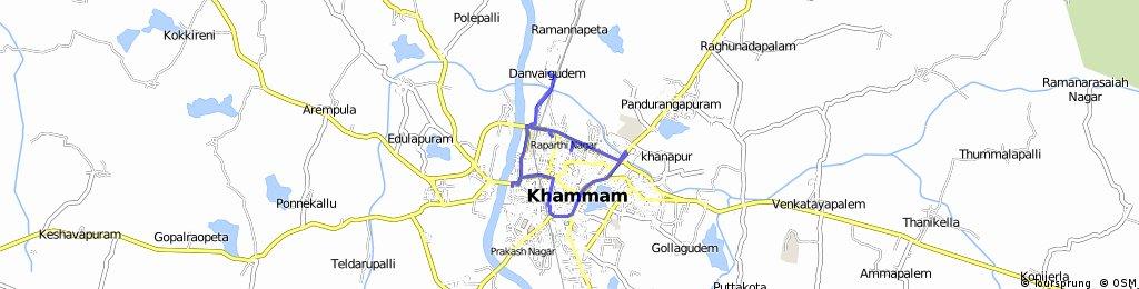 CM Visit Route  map