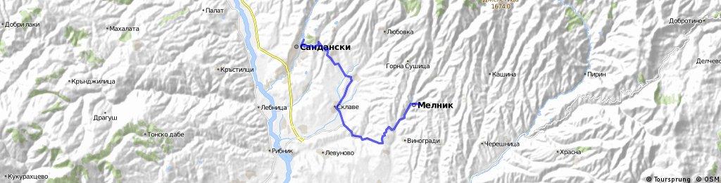 Sandanski - Melnik